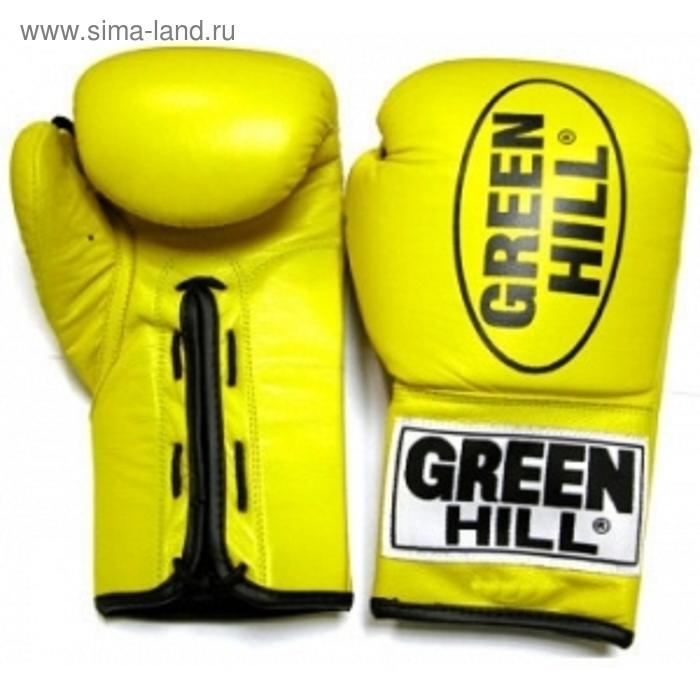 Боксерские перчатки BGD-1215 FORCE 16 oz желтые