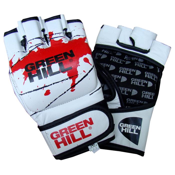 Перчатки для ММА , размер M, цвет белый