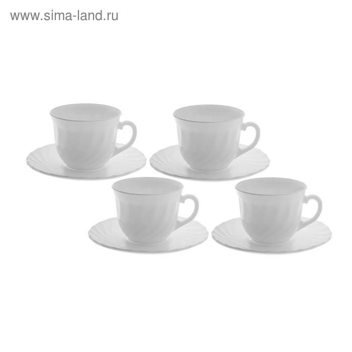 Набор чайный на 4 персоны Trianon, чашка 280 мл