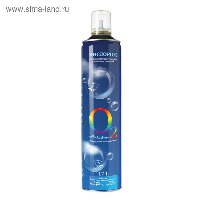 Кислородный баллончик Air-Active с эфирным маслом мяты, без маски, 17 л