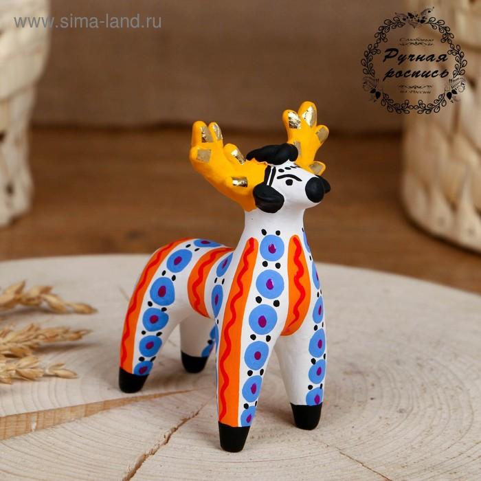 """Дымковская игрушка """"Олень"""", микс (1476975) - Купить по ..."""