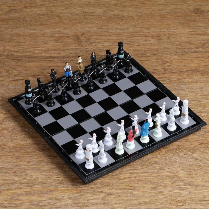 Шахматы на магните, 30х30 см, фигуры людей