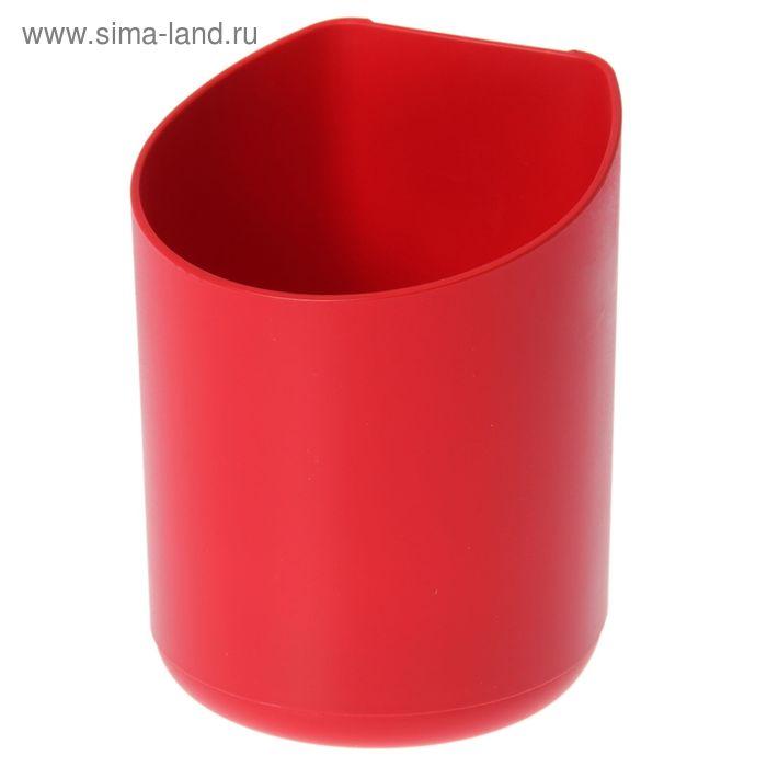Кашпо для фитомодуля малое, красное