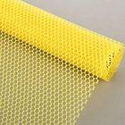 """Сетка для цветов """"Соты"""", жёлтый, 48 см х 4,5 м"""