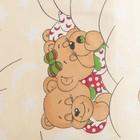 """Комплект """"Спящие мишки"""" (6 предметов), цвет бежевый 65/1, поролон - фото 106544244"""