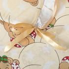 """Комплект """"Спящие мишки"""" (6 предметов), цвет бежевый 65/1, поролон - фото 106544246"""