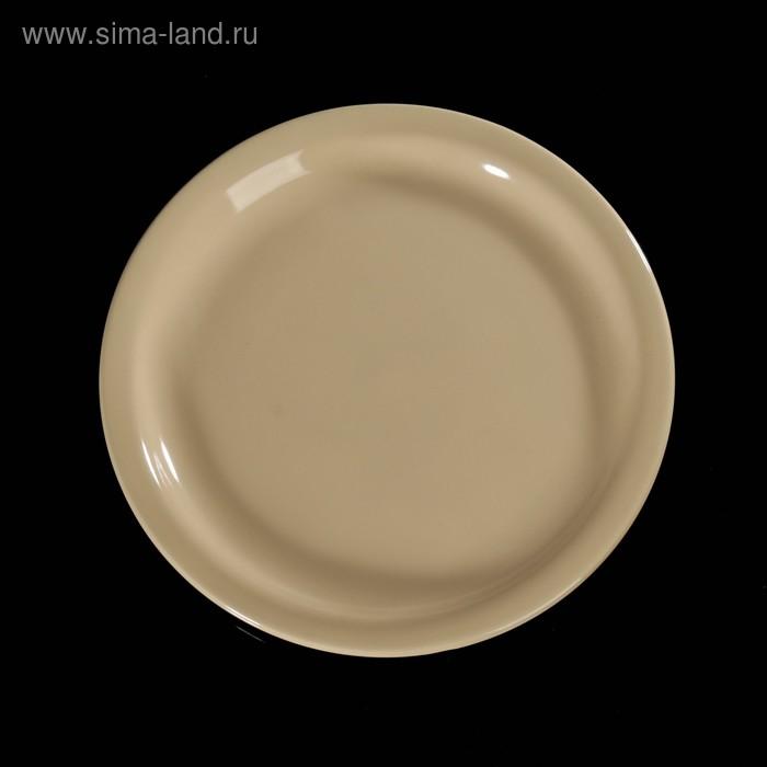 Тарелка подстановочная d=23 см, цвет бежевый