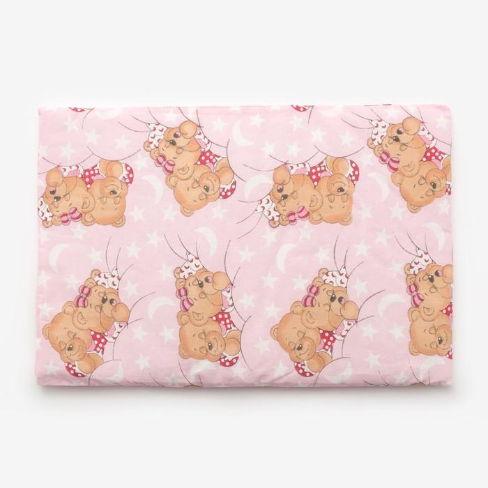 Подушка, размер 40*60 см, цвет розовый, набивка МИКС 224 - фото 76733499