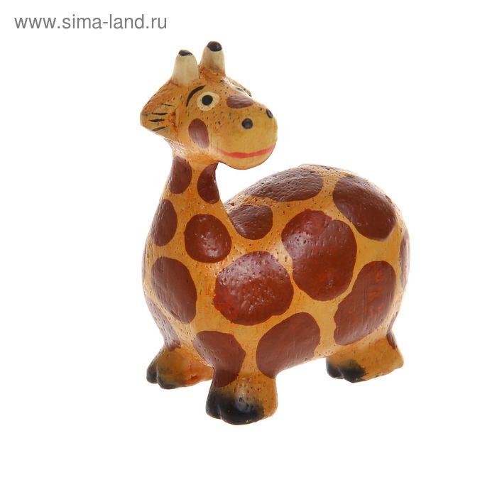 """Сувенир """"Жираф переел"""""""