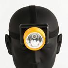 Headlamp Compact, 1 LED, 2 modes, heavy duty, 1W, 3 AA, mixed, 6х7х9 cm