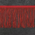 "Тесьма декоративная ""Бахромушка"", ширина 10см, длина 5±1м, цвет коралловый"