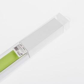 Штора рулонная 120×180 см (с учётом креплений 3,5 см), цвет зелёный - фото 1712821