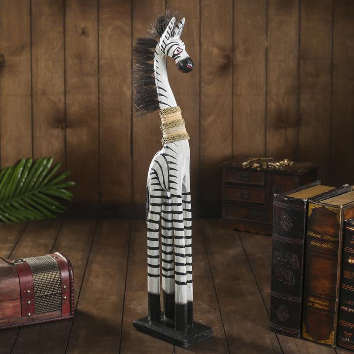 """Сувенир """"Зебра модель"""", 60 см - фото 889308"""
