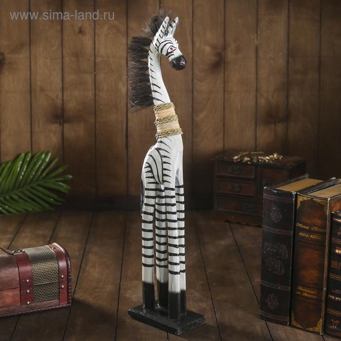 """Сувенир """"Зебра модель"""", 60 см"""