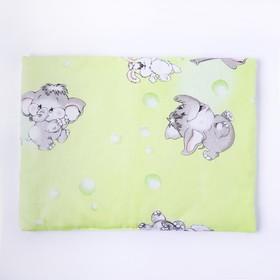 Подушка, размер 30*40 см, цвет зелёный, набивка МИКС 214