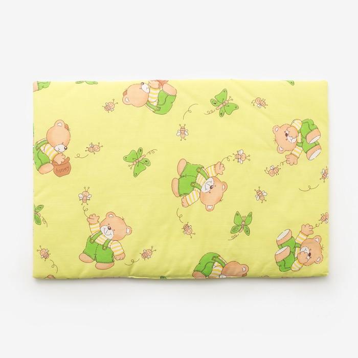 Подушка, размер 40*60 см, цвет зелёный, набивка МИКС 224 - фото 76715547