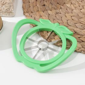 Knife for fruit slicing with handles 16 cm, MIX color