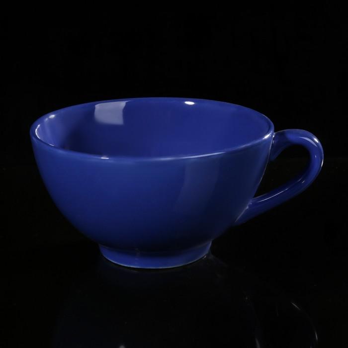 Бульонница 700 мл, цвет синий