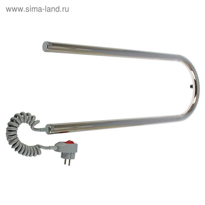 """Полотенцесушитель электрический """"Ларис"""", П-обр., 600х200 мм, 29 Вт, левый"""