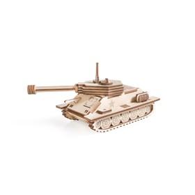 """Деревянный конструктор """"Танчик Т-34"""""""