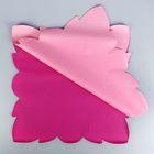 """Салфетка для цветов """"Горошек"""", розовый микс, 60 х 60 см, 35 мкм"""