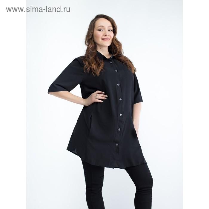 Блузка для беременных 2279, размер 48, рост 170, цвет черный