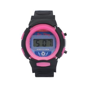 Часы наручные детские 'Спорт', электронные, ремешок силикон, микс, l=23 см Ош