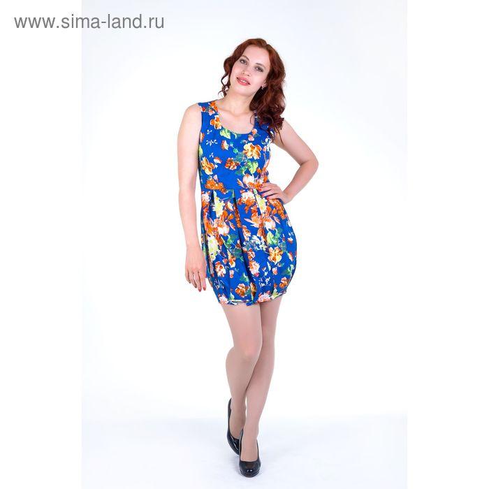 Платье женское, размер 42, рост 168, цвет электрик (арт.17139)