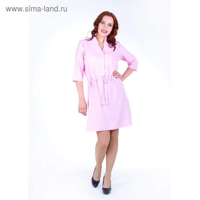 Платье женское, размер 44, рост 168, цвет розовый (арт. 17248)