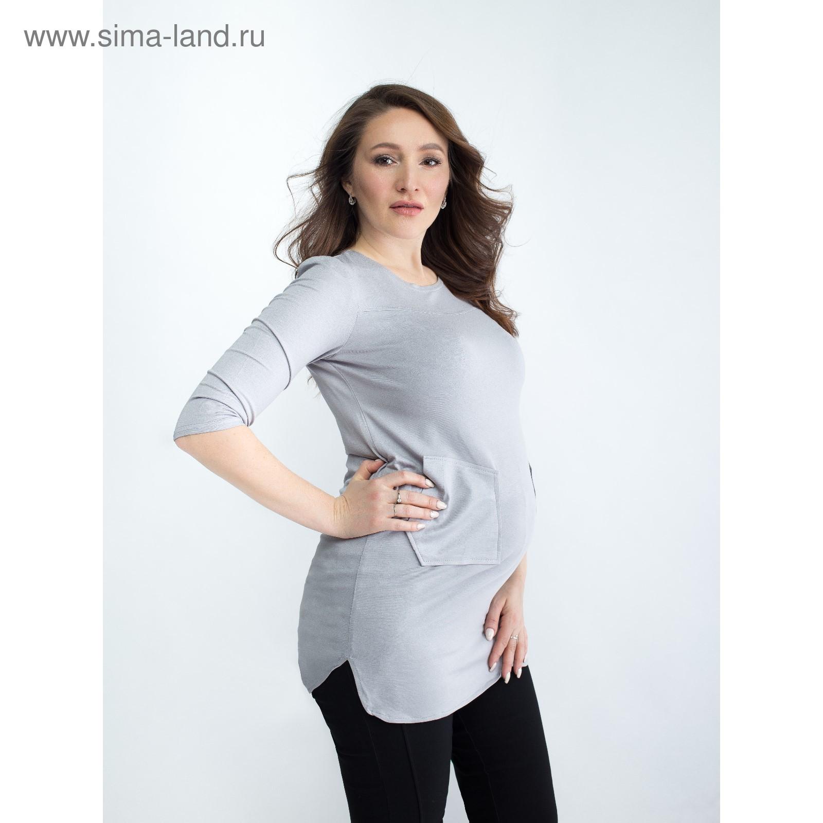 eaa6b8f7e8313 Блузка для беременных 2273, цвет свет. серый, размер 50, рост 170 ...