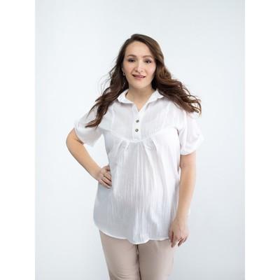 Блузка для беременных 2157, цвет белый, размер 44, рост 170