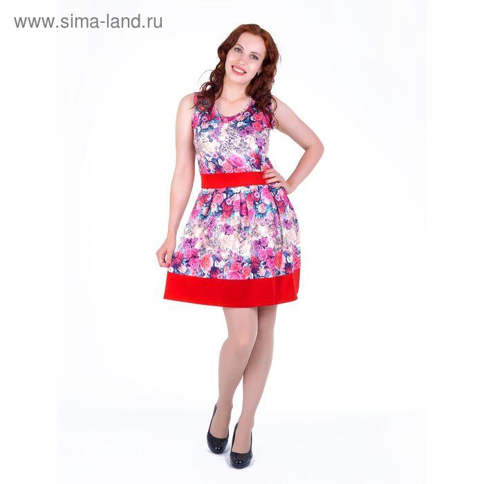 Платье женское , размер 50, рост 168, цвет розовый (арт. 17121 С+)