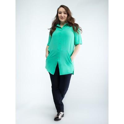 Блузка для беременных 2279, цвет мята, размер 52, рост 170