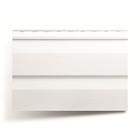 Панель виниловая Т-01, белый 3,66м