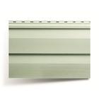Панель виниловая Т-01, серо-зелёный 3,66м