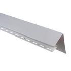Планка околооконная Т-17, белый 3,05м
