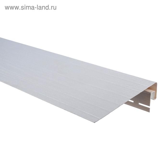 "Планка Т-08""Фаска"", белый 3,66м"