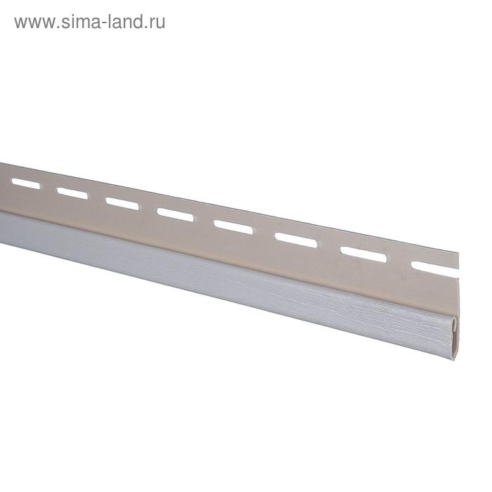 Планка финишная Т-14, светло-серый 3,66м