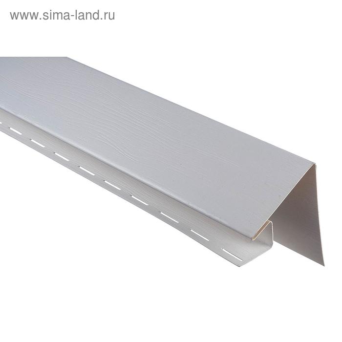 Планка околооконная Т-17 ВН, белый 3,05м