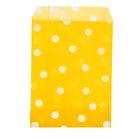 """Пакет фасовочный """"Горох"""", цвет жёлтый, 10 х 15 см"""