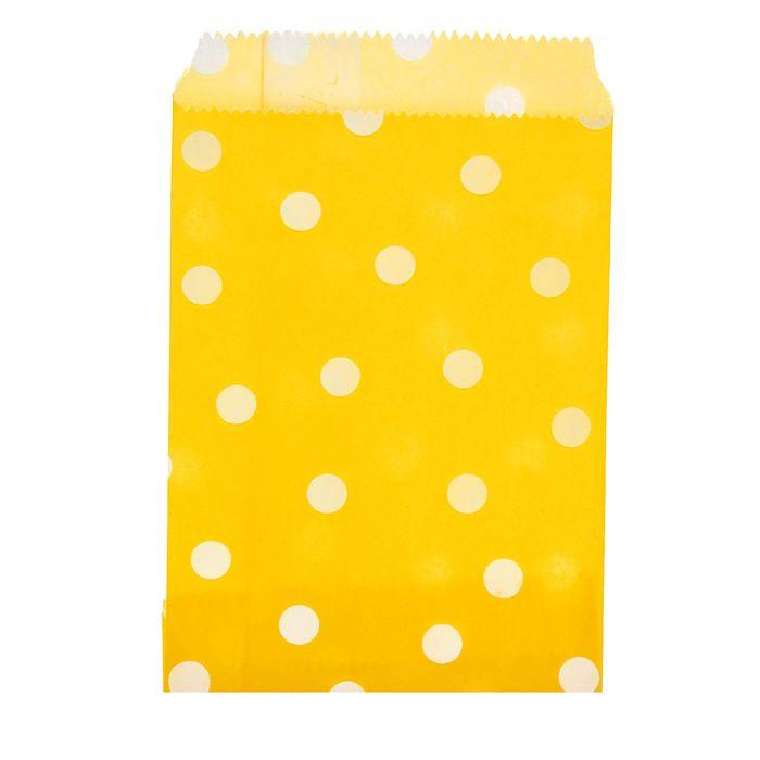 """Пакет фасовочный """"Горох"""", жёлтый, 10 х 15 см"""