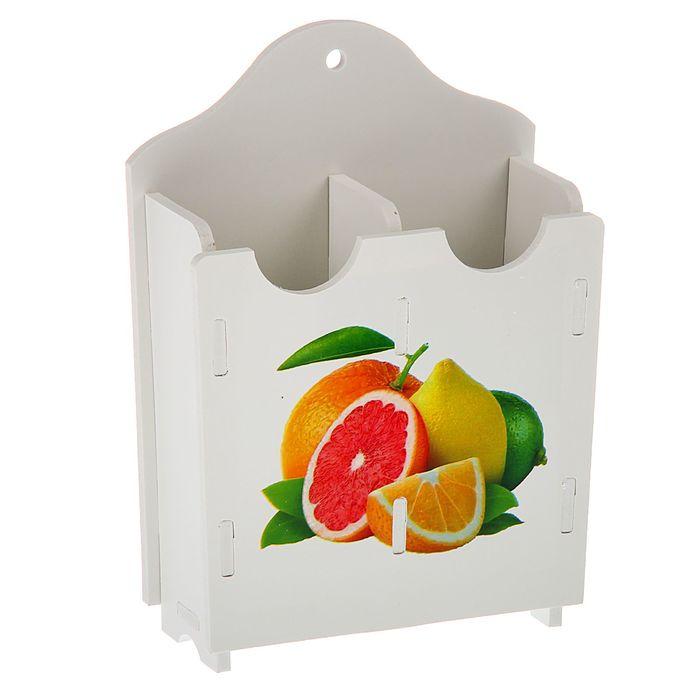 """Сушилка для столовых приборов 21х6х15 см """"Апельсин"""""""