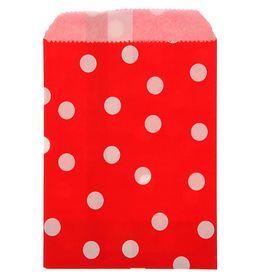 Пакет фасовочный 'Горох', красный, 10 х 15 см Ош