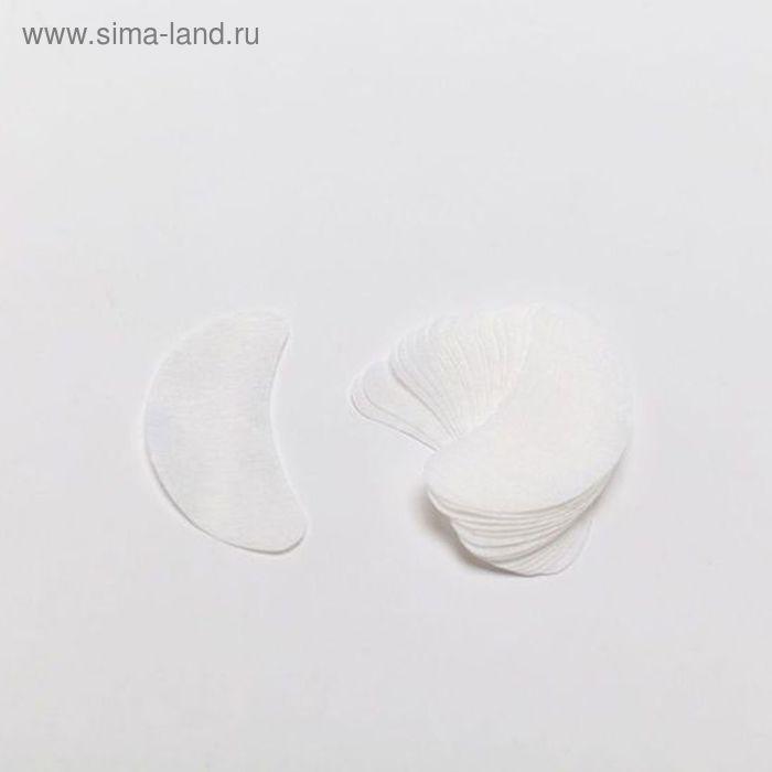 Салфетки-бобы под глаза,белые, 100 шт