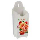 """Сушилка для столовых приборов 20,5х6х8 см """"Яркие цветы"""""""