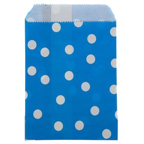 Пакет фасовочный 'Горох', синий, 10 х 15 см Ош
