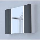 Акватон Премиум Ондина 100 зеркало-шкаф, графит 1A176102ODG20