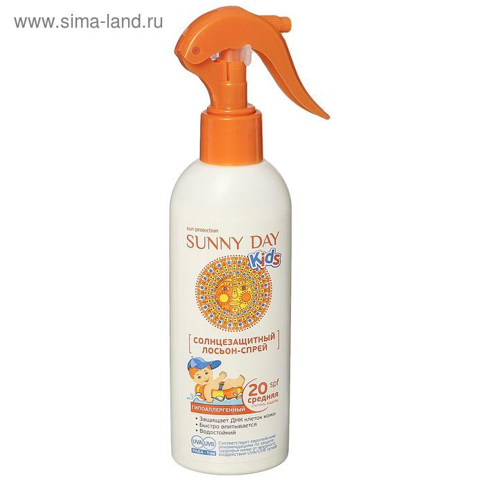 Лосьон-спрей солнцезащитный Sunny Day Kids, SPF 20, 180 мл