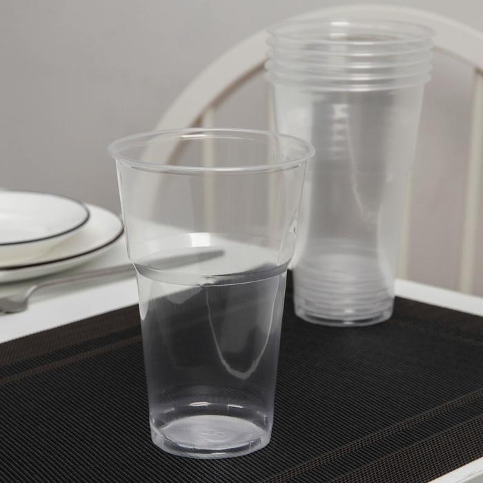 "Набор ""По-пивку"": стакан 500 мл прозрачный, 6 шт"