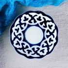 Тарелка круглая «Пахта», 12.5 см, белая